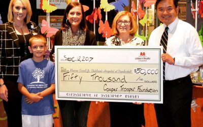 2017 Donation to Childhood Cancer Research Fund Brings Total to $200,000