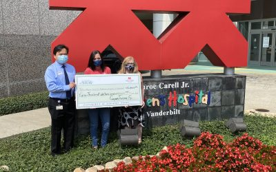 A Total of $350,000 Given to Childhood Cancer Research